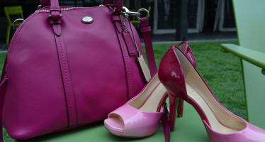 A Happy Accident: When Shoes and Purse Match