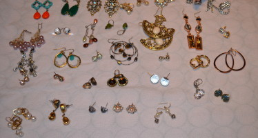 Can You Ever Have Too Many….? Earrings, That Is: 30 Day Challenge
