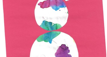 Easy Artsy Watercolor Painting Collage