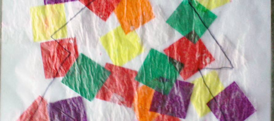 Christmas Tissue Paper Arts And Crafts