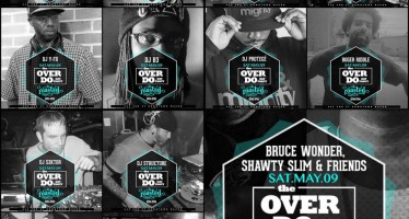 12 DJ's, One Party: The Over-Do Day Party at Roasted Cafe