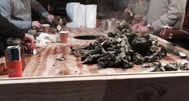 Coastal Kelder: How To Build the Perfect Oyster Shucking Table