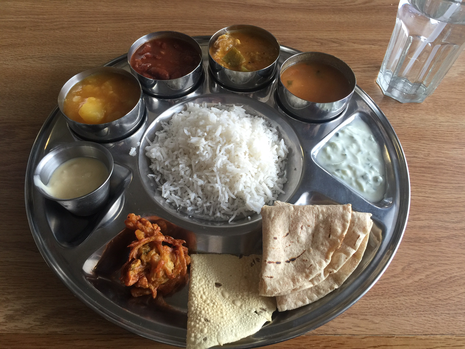 Trying Indian Food For The First Time
