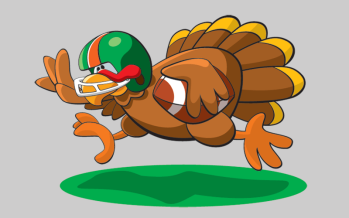 Nothing goes better together than Thanksgiving and football