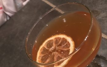 Thirsty Thursday: The Sweet Tea Sidecar