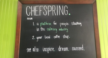 Which New Ingleside Business Serves Coffee and Macarons and More? It's Chefspring!